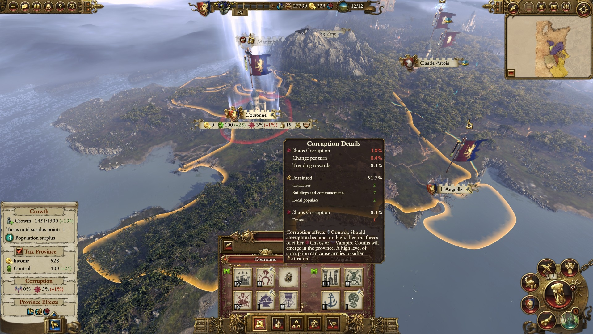 Chaos Corruption Calculations Wrong — Total War Forums