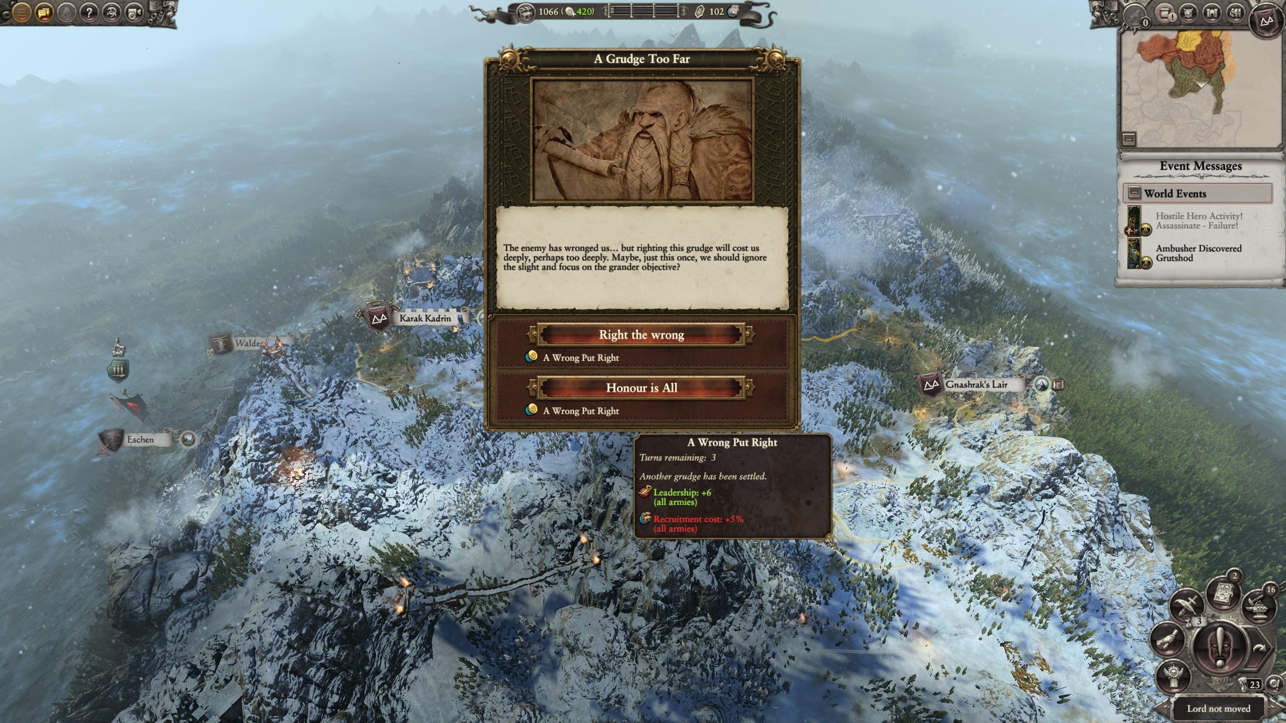 Ungrim Campaign Bug — Total War Forums