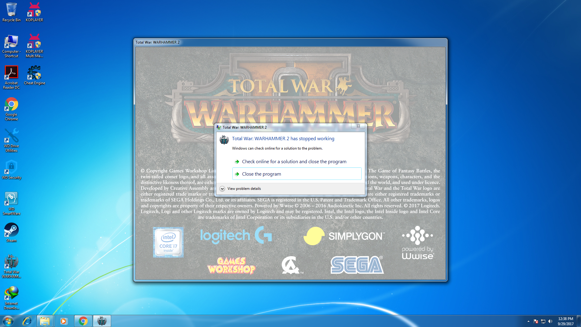 I CAN'T LAUNCH TOTAL WAR WARHAMMER — Total War Forums