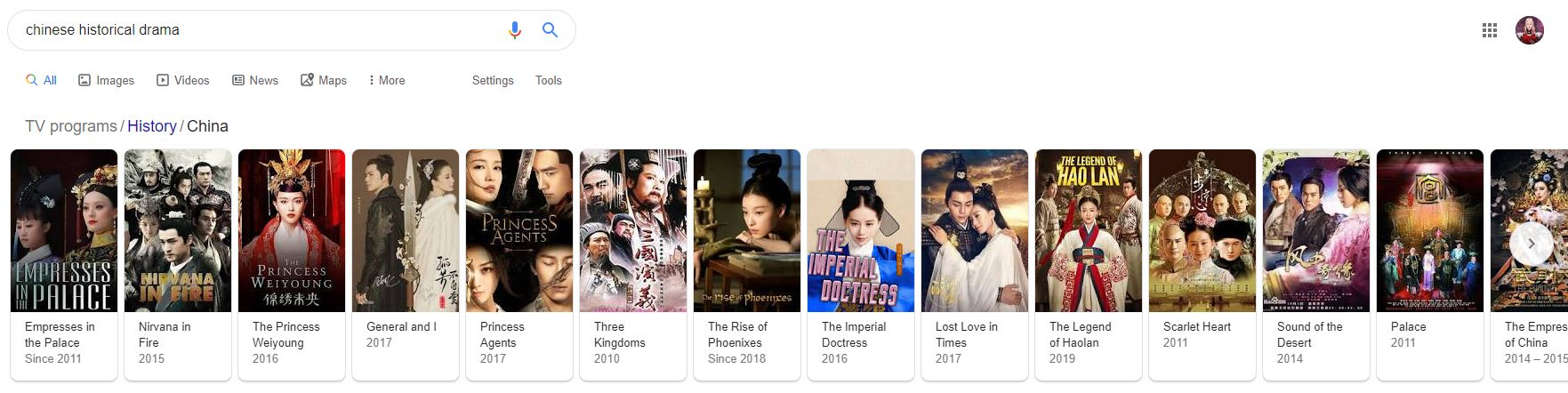 Chinese Historical Drama With Strong Female Lead