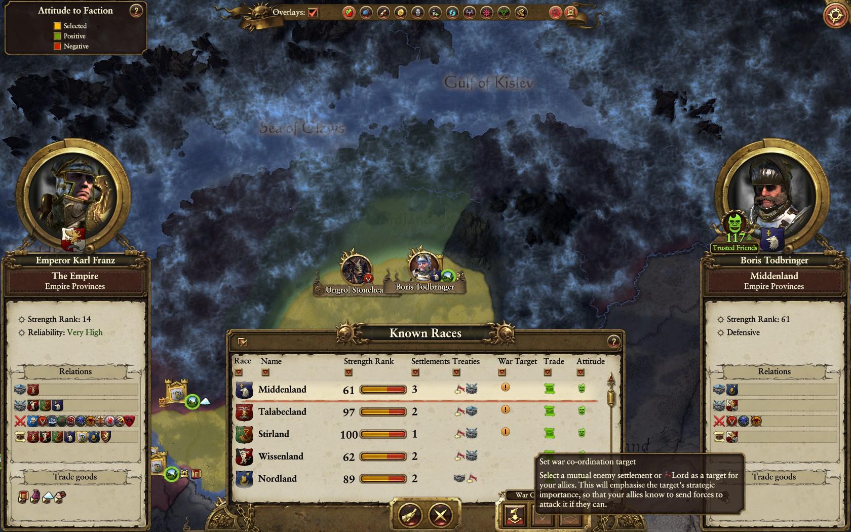 War target bug via diplomacy (The Empire)  — Total War Forums