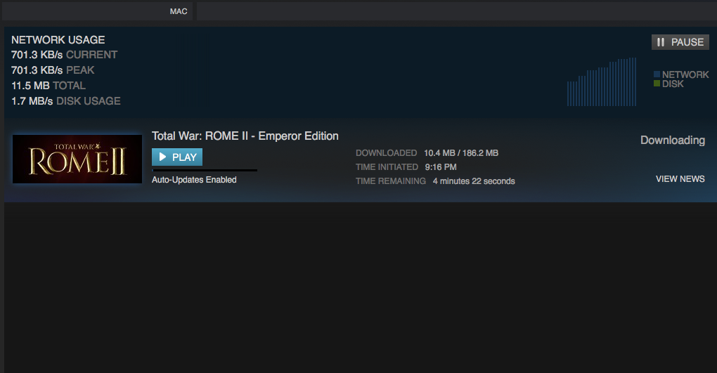 Downloading Problems on Mac — Total War Forums