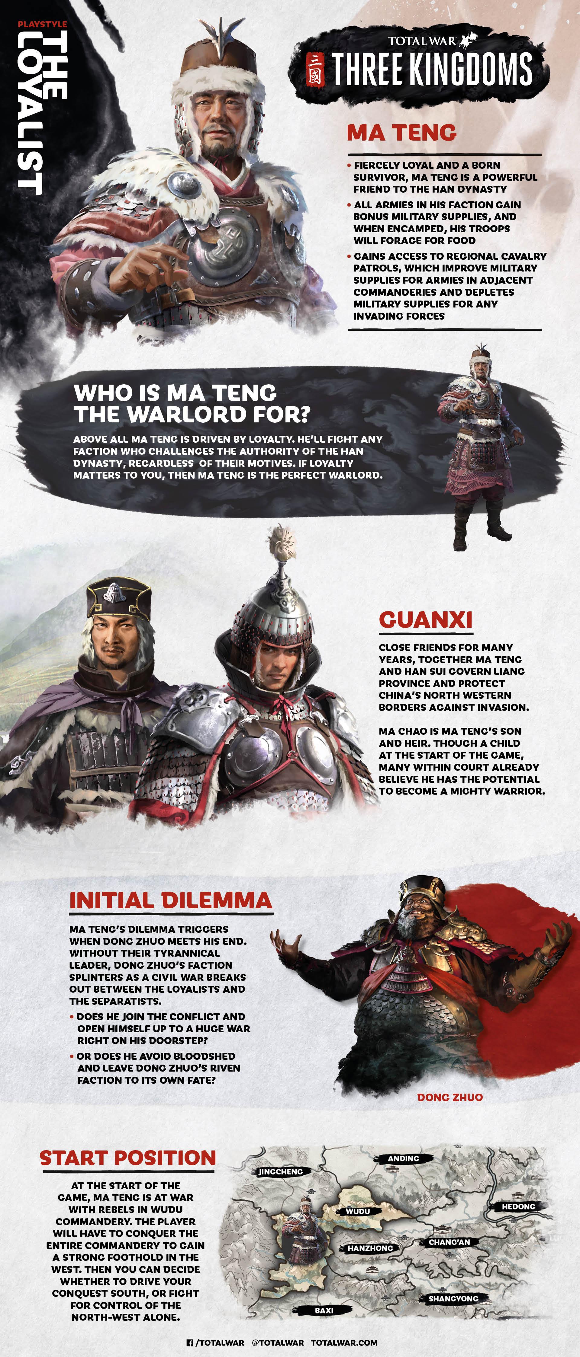 warlord legends ma teng total war forums