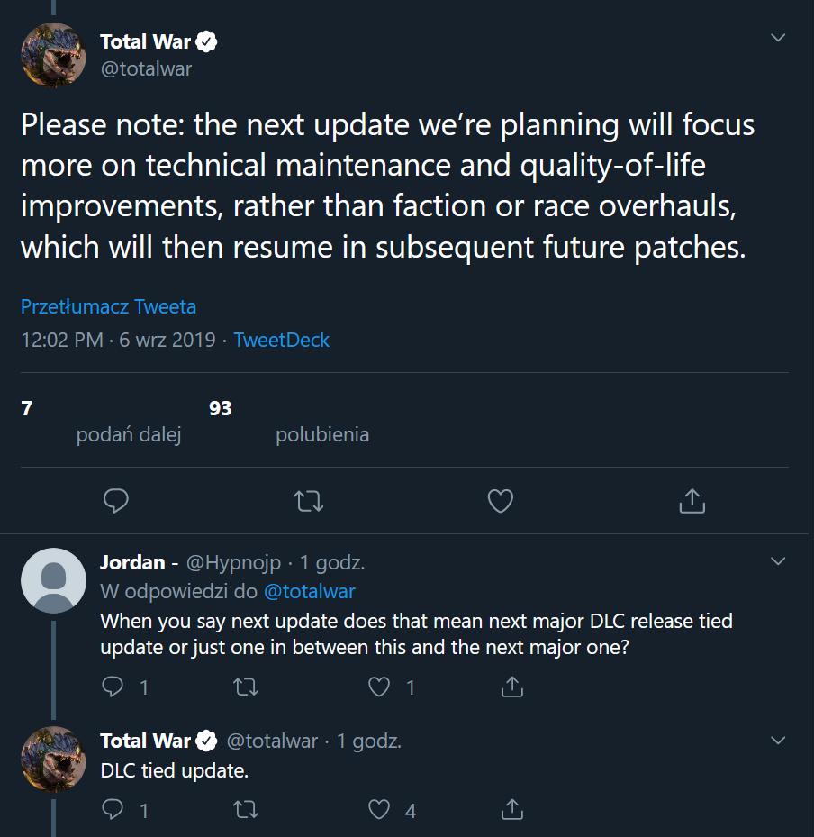 Next DLC could be Skaven DLC — Total War Forums