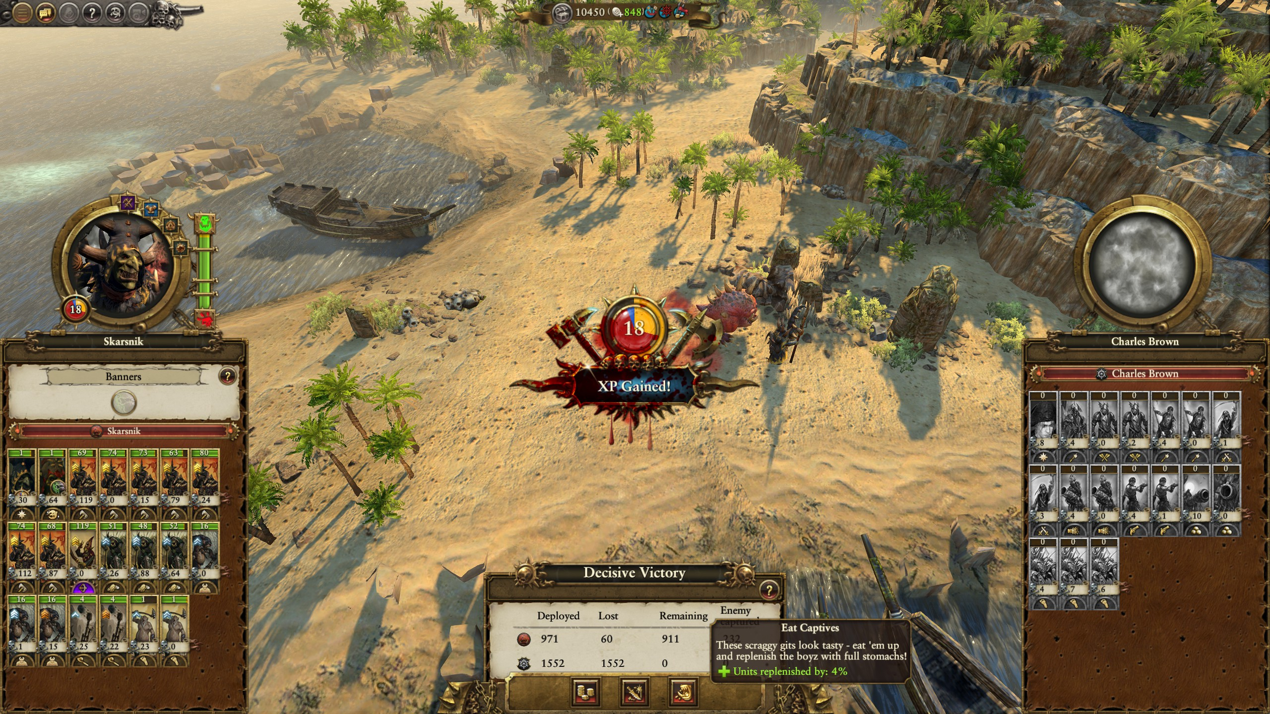 Thoughts on the Greenskins after Legendary Mortal Empires