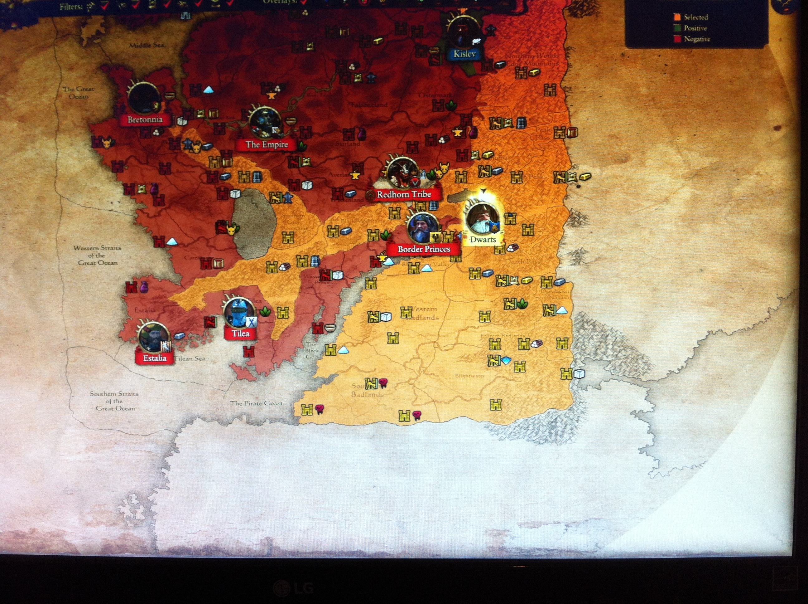 Possible expansions map from game files page 8 total war forums and the actual full map extends quite far beyond what you can currently access with your armies apologies for this poor quality image i cant seem to gumiabroncs