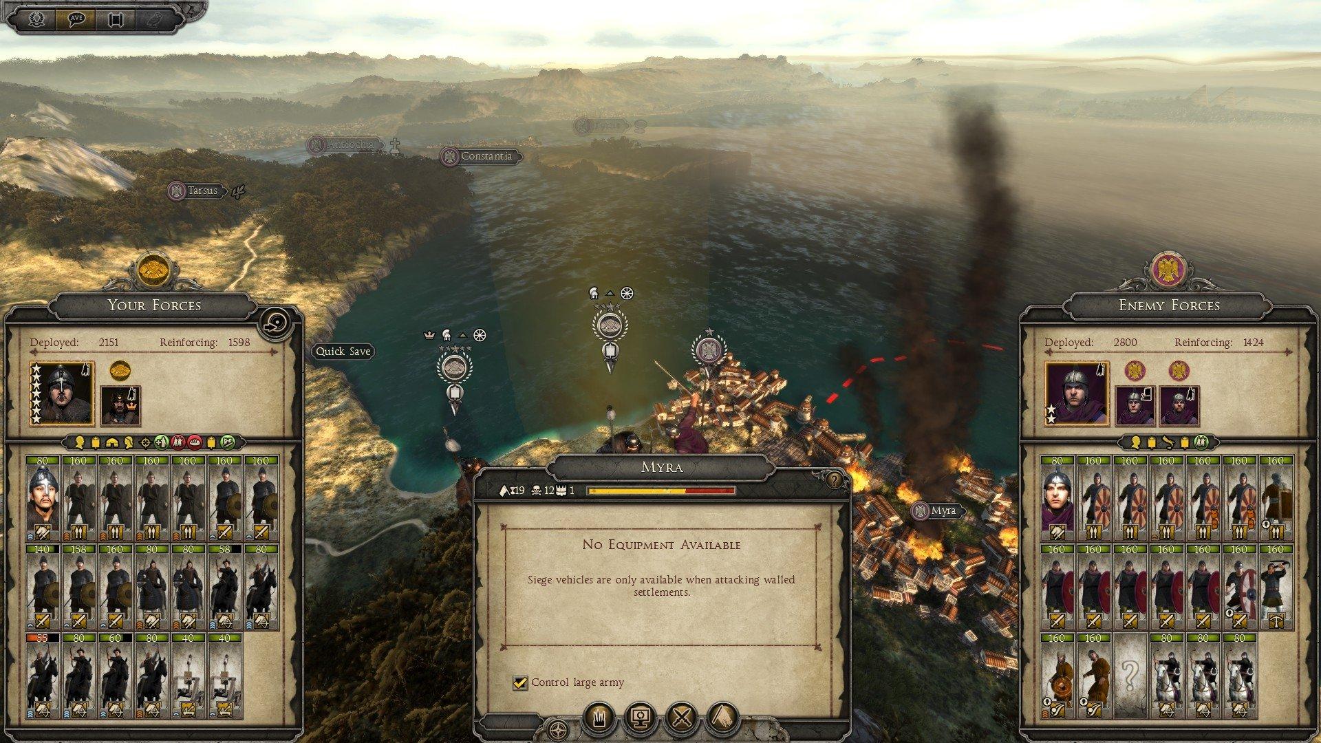 atilla total war how to beat visagoths turn 1
