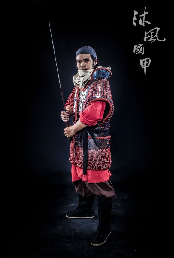 c52e4d1ec let us appreciate some reproduction of han dynasty armor ----made by  沐风国甲&萧何国甲
