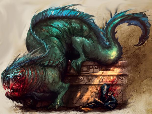 Mysterious creatures of warhammer world: Merwyrm — Total War