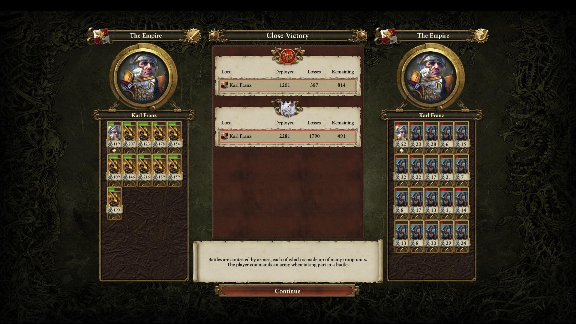 Swordsmen or Greatswords? — Total War Forums