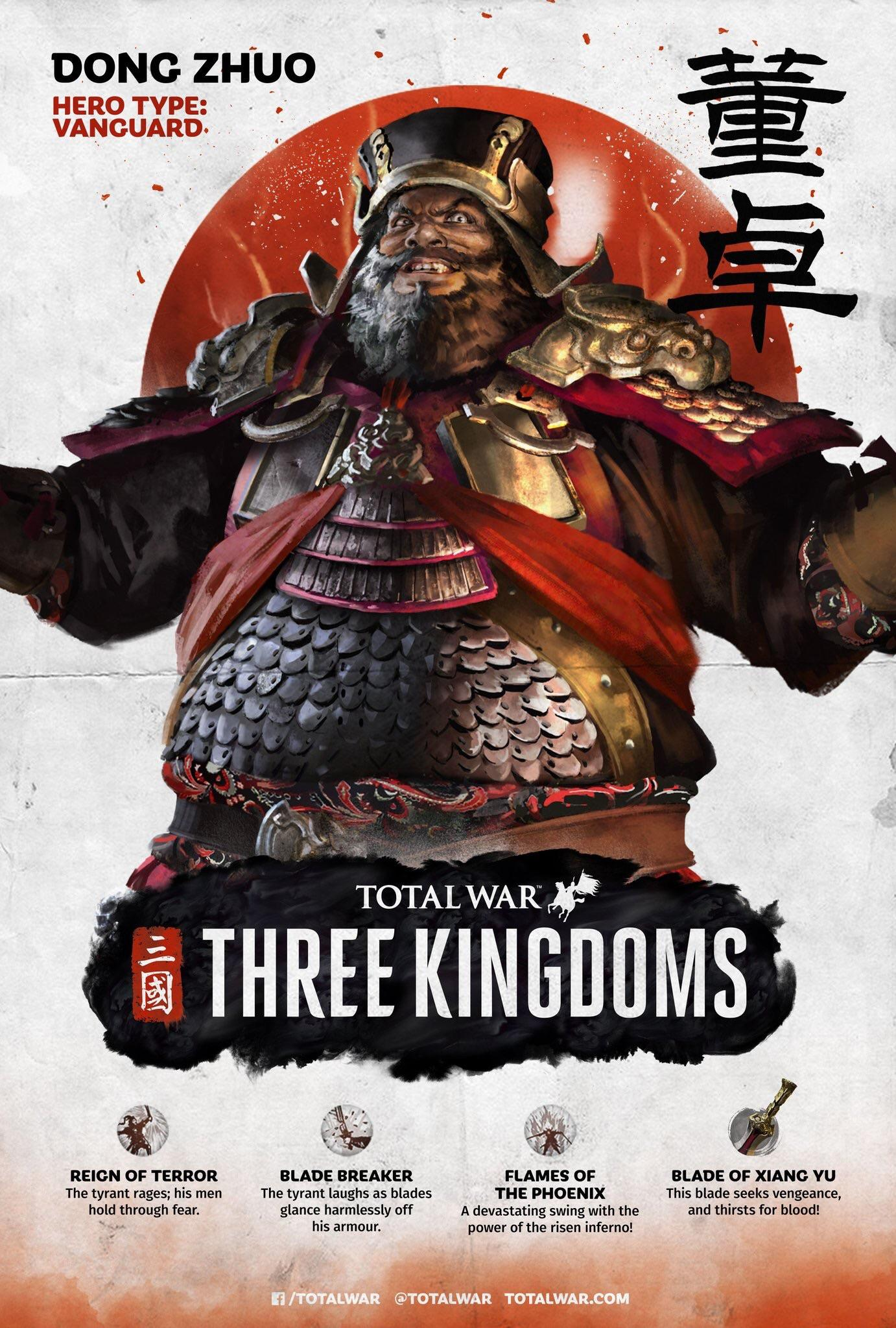 So is this Dong Zhuo poster legit? — Total War Forums