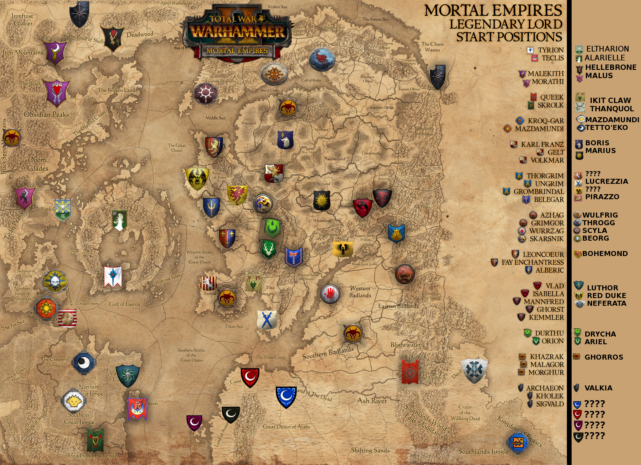 The perfect mortal empires map and dlcs total war forums gumiabroncs Gallery