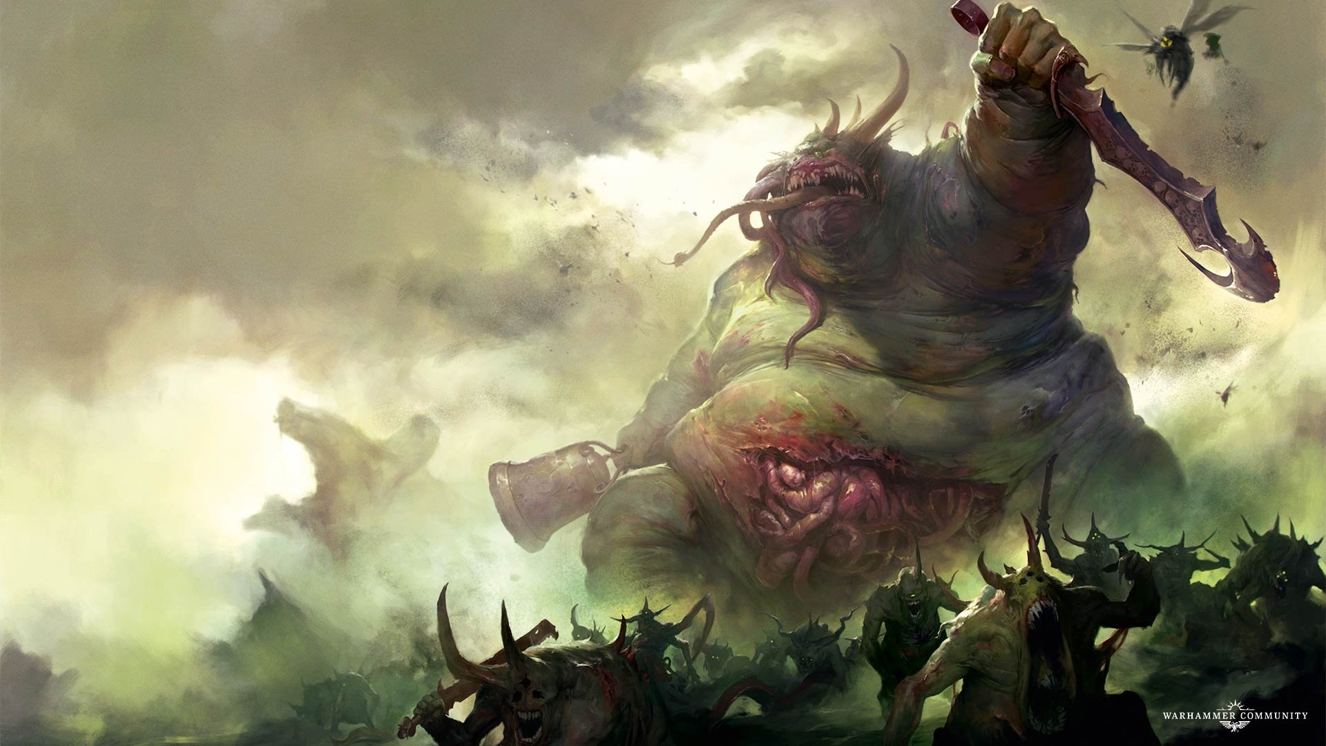 Nurgle Armies You Will Feel Sick By Playing Them Total War Forums