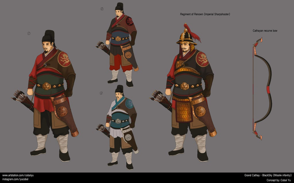 Total War: Warhammer 3 Grand Cathay fan Concept #16: Black Sky