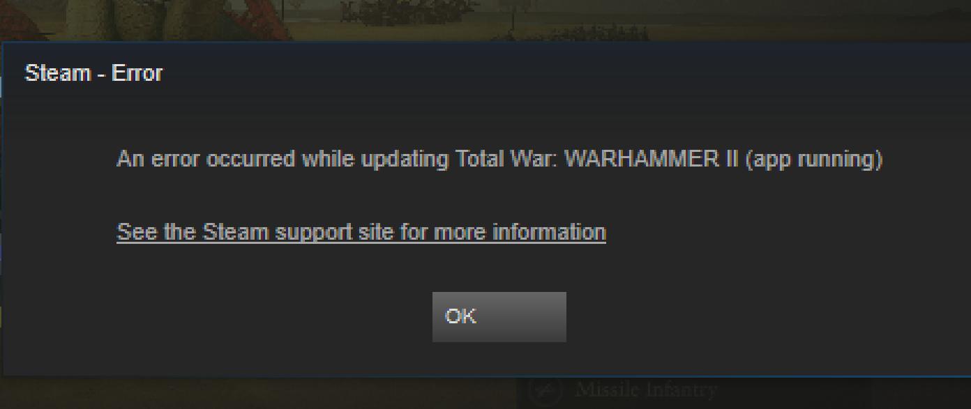 total war attila failed to start app already running windows 10