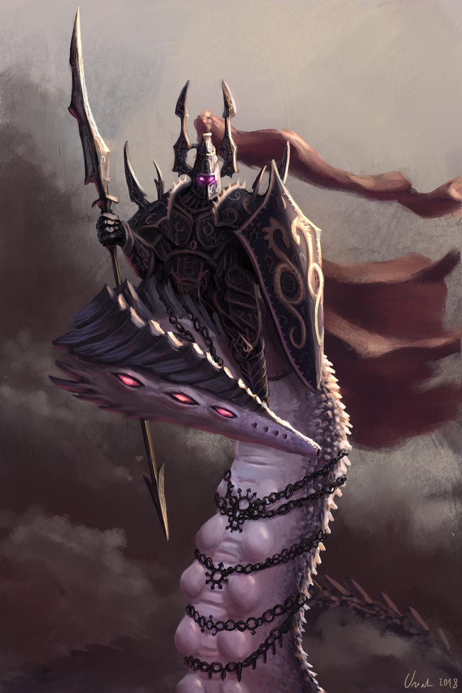 herald of the dark prince fanart total war forums