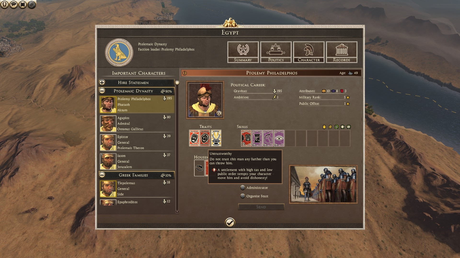 Idle Traits are not balanced — Total War Forums