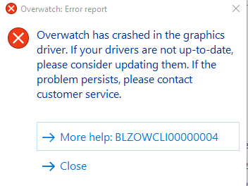 Overwatch Crashing On Startup