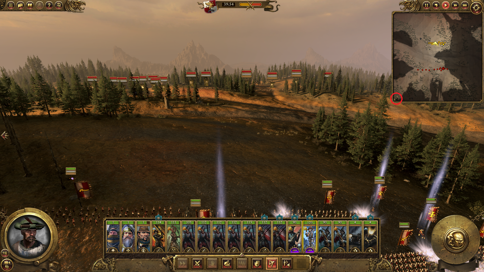 I can't reduce my radar map — Total War Forums