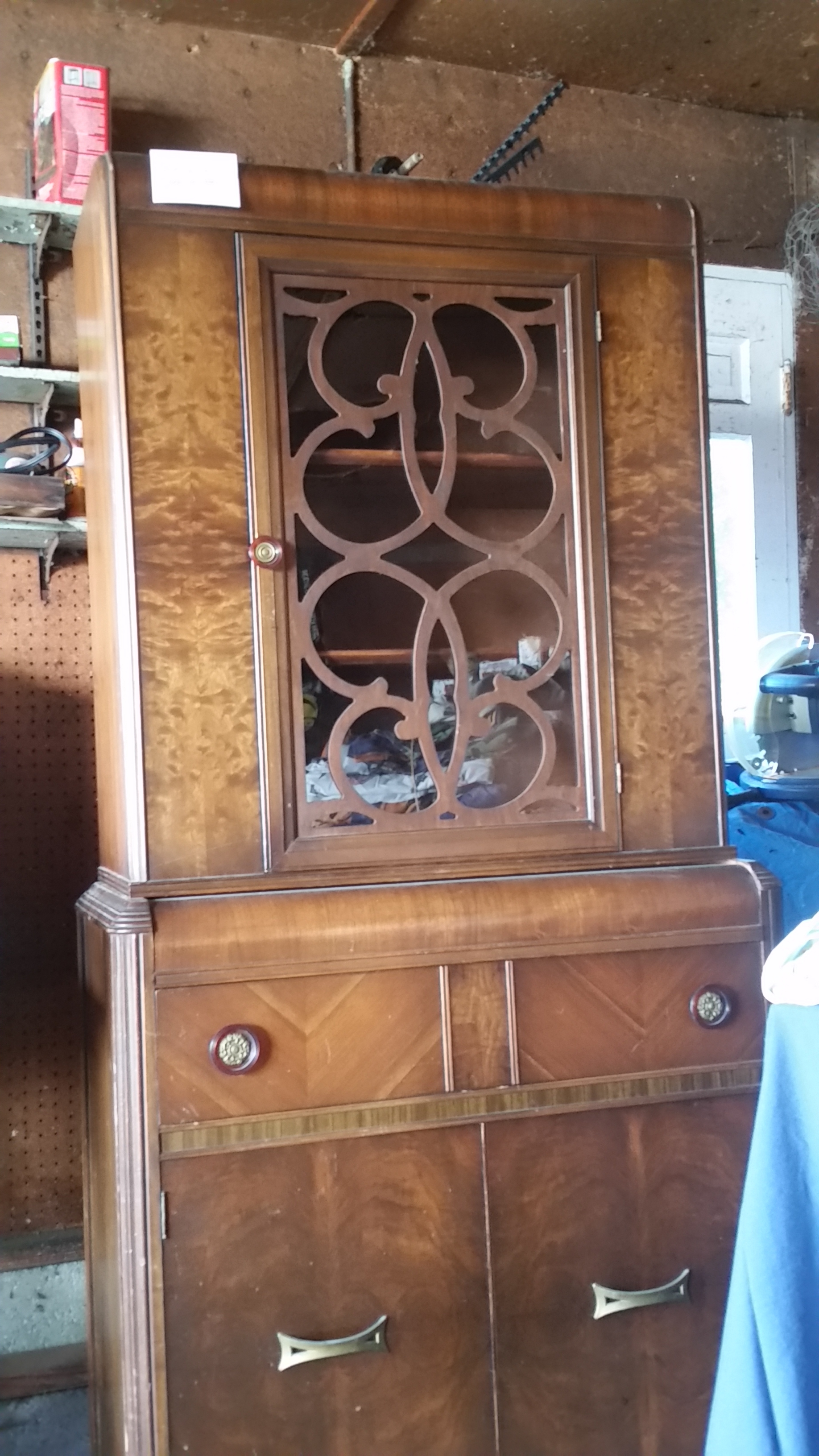 Converting antique China cabinet into humidor — Cigar Forum