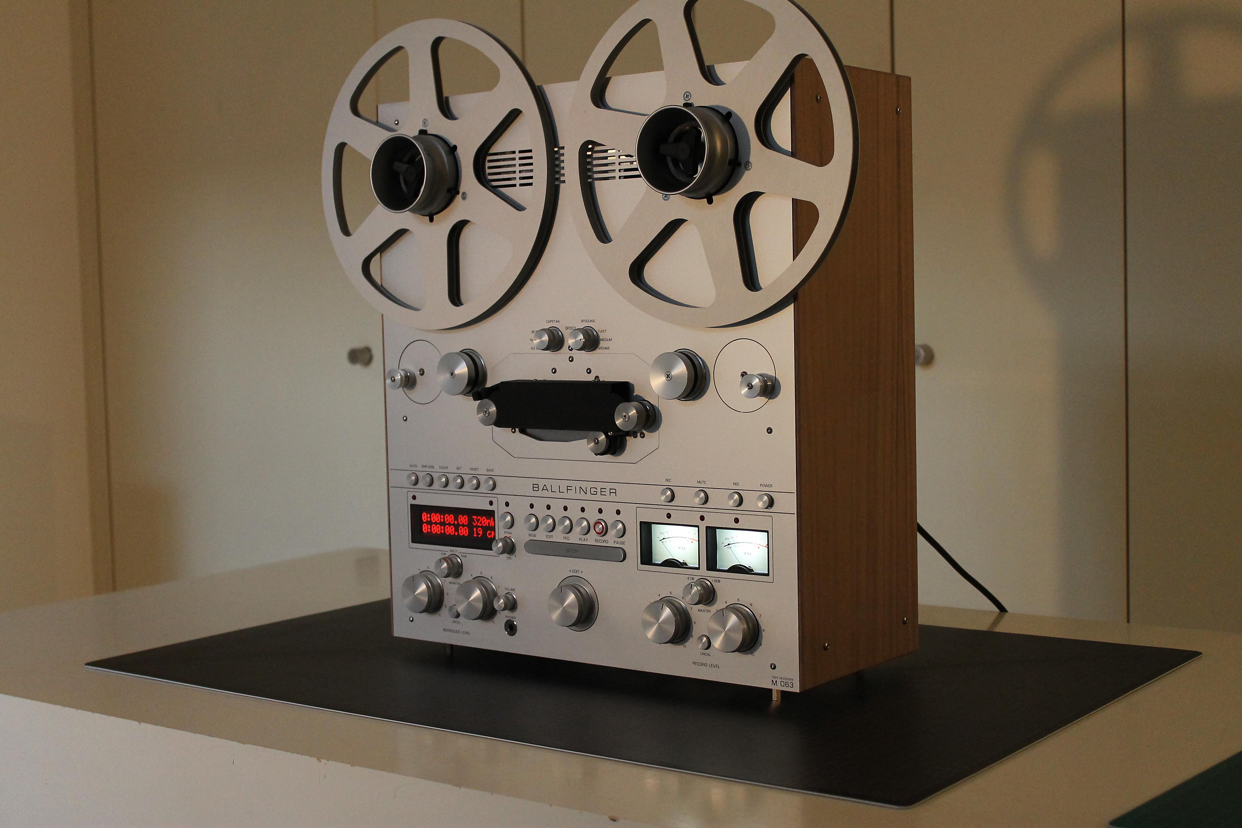 Ballfinger Reel To Reel Tape Machine To Land Ae Shortly Audio Exotics