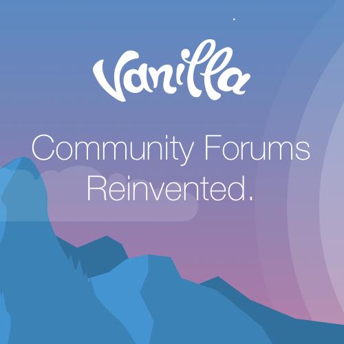 Vanilla Demo Community
