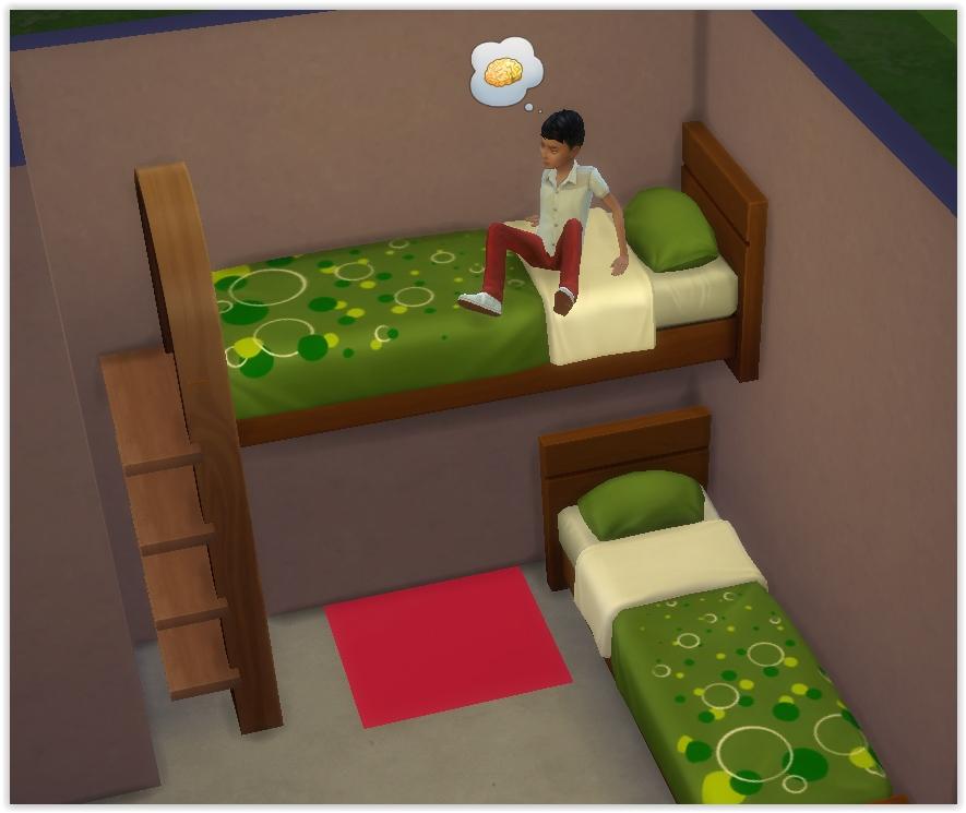 tutoriel faire des lits superpos s utilisables en jeu. Black Bedroom Furniture Sets. Home Design Ideas