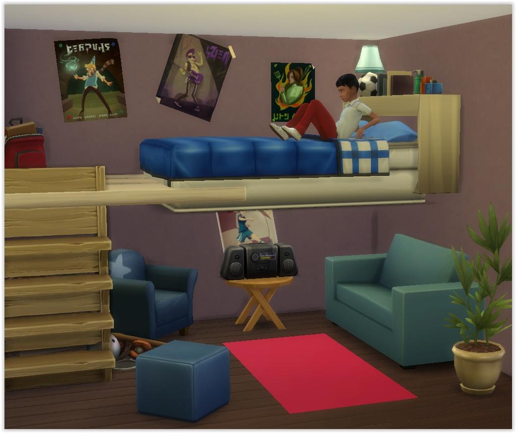 Tutoriel faire des lits superpos s utilisables en jeu - Fabriquer des lits superposes ...