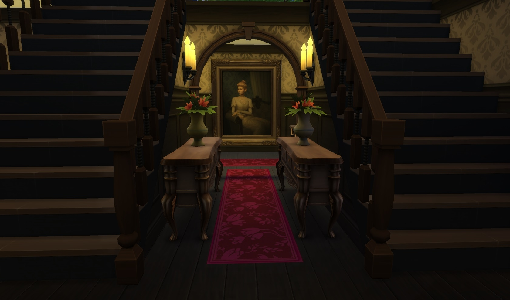 Haunted Manor Defi D Les Sims