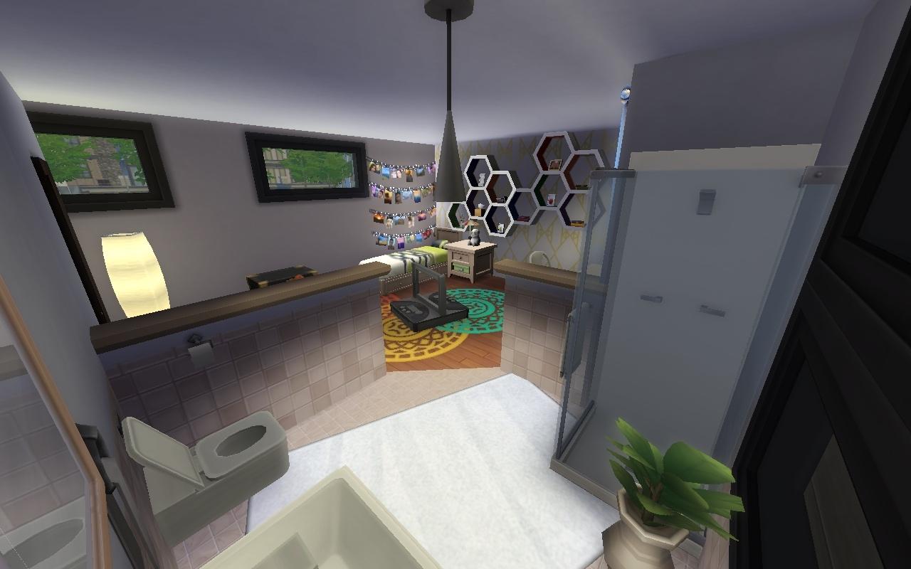 contemporain quand tu nous appelles les sims. Black Bedroom Furniture Sets. Home Design Ideas