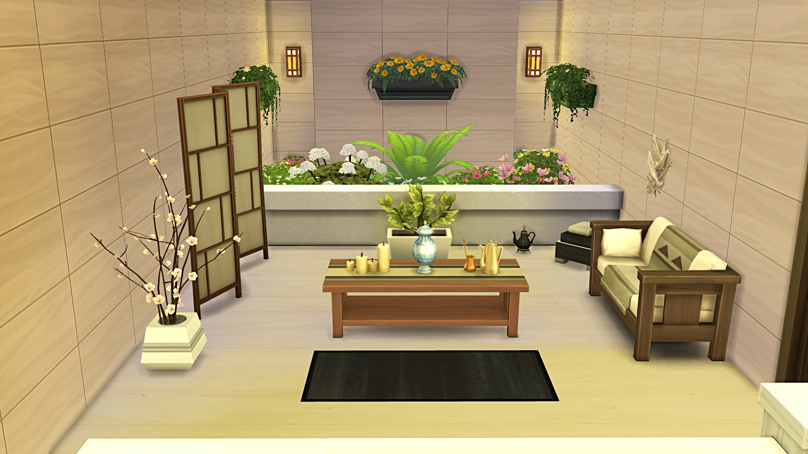 studio leeloo86 la familiale p2 les sims. Black Bedroom Furniture Sets. Home Design Ideas