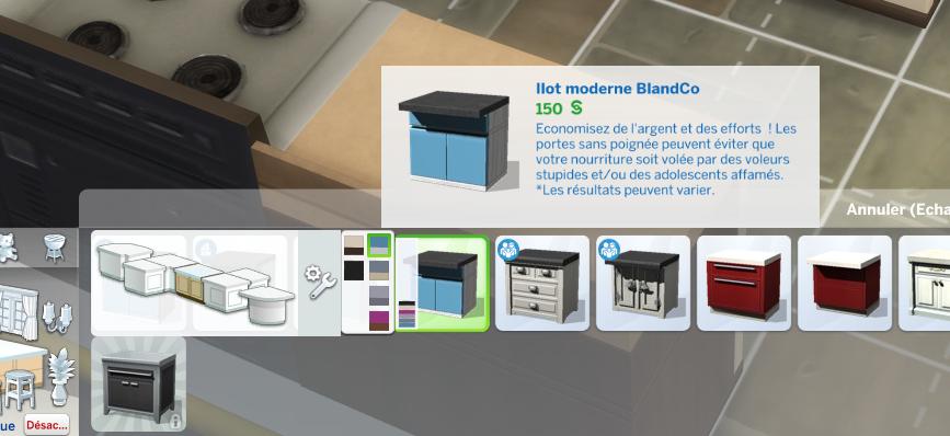 Comment Arrondir Les Plans De Travail Les Sims