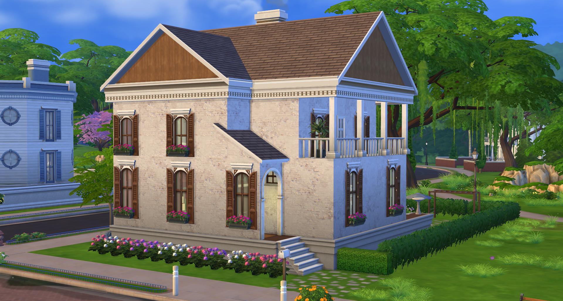 Maison de luxe moderne sims 3 sims maison moderne au toit for Sims 3 salon moderne