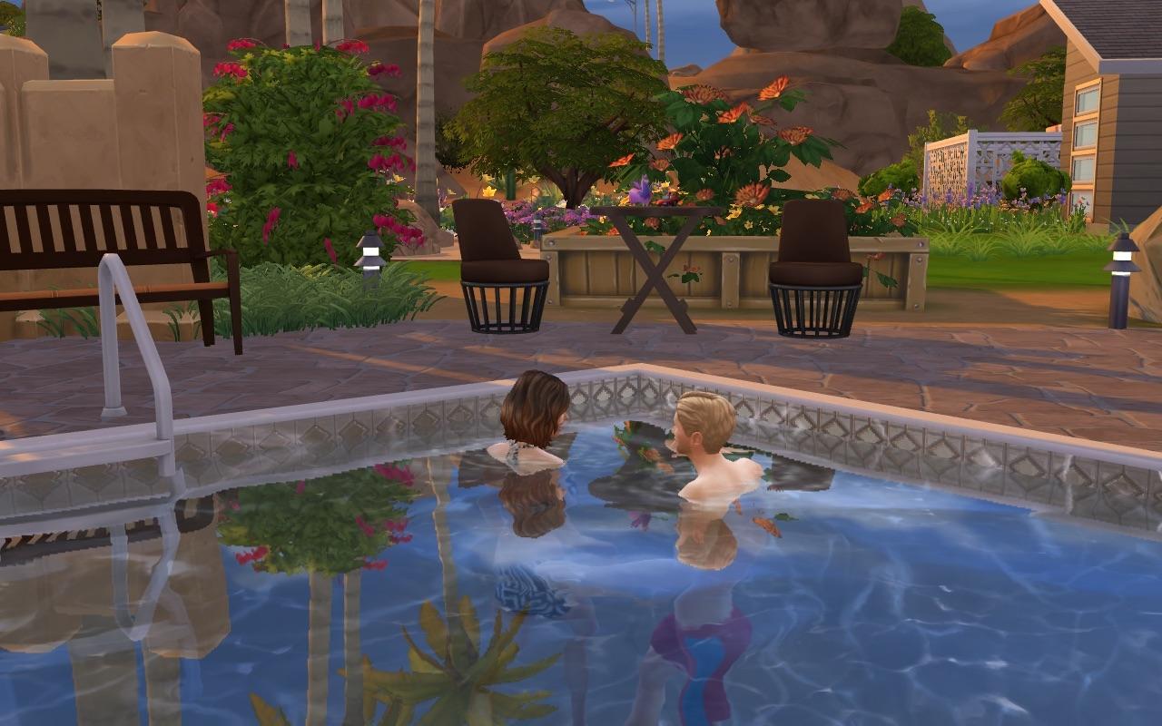 L 39 un pour l 39 autre page 16 les sims for Accoucher dans une piscine