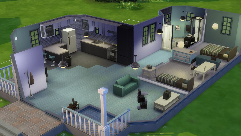interieur maison sims 2. Black Bedroom Furniture Sets. Home Design Ideas