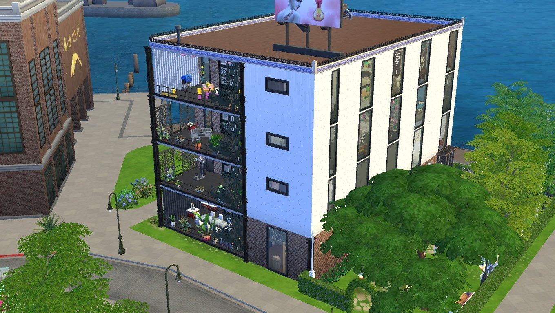 Sims 4 la r sidence du vieux sel san myshuno vie de sims for Appartement design sims 3