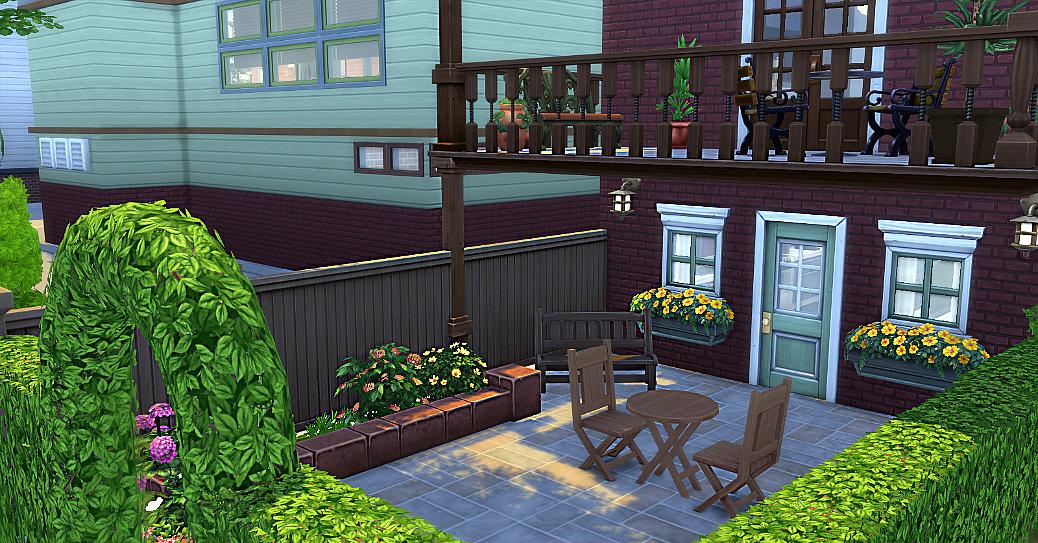 Studio sirhc59 maj p 74 wooded hill for Meubler une terrasse