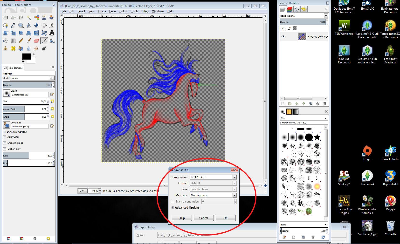 convertir un fichier pdf en jpeg avec gimp