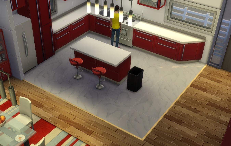 d limiter diff rents types de sol les sims. Black Bedroom Furniture Sets. Home Design Ideas