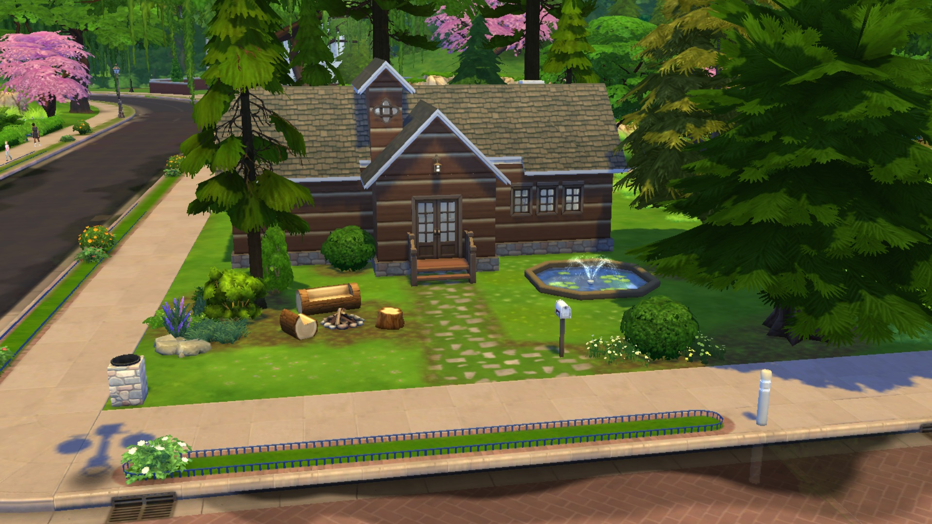 Maisons cosy cottage cologique contemporaine mais for Construire une maison sims 3 xbox 360
