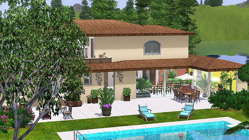 Id es maison sims 4 for Decoration maison sims 4