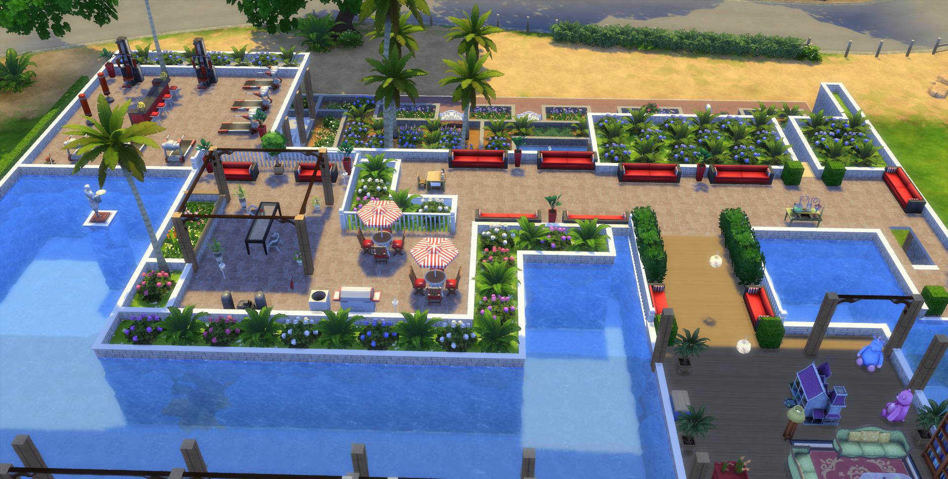 Interieur maison sims 4 maison moderne for Exterieur sims 4