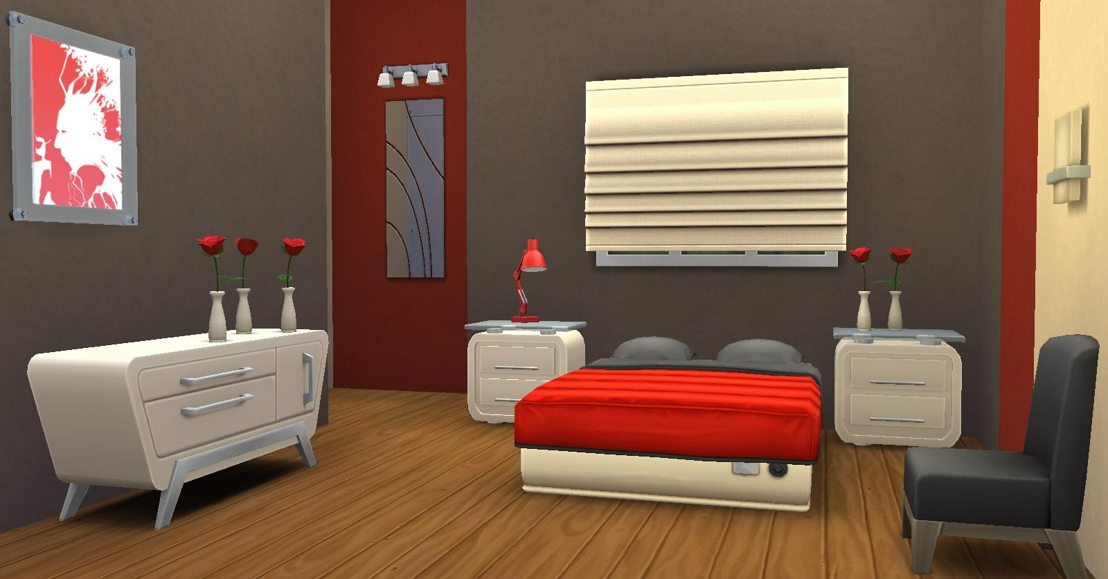 et si on mariait les couleurs le gris fin 16 09 les sims. Black Bedroom Furniture Sets. Home Design Ideas