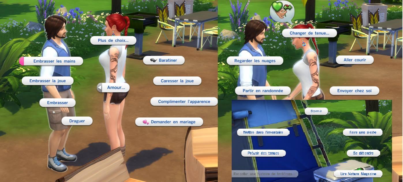 la relation de rencontres Freeplay Sims