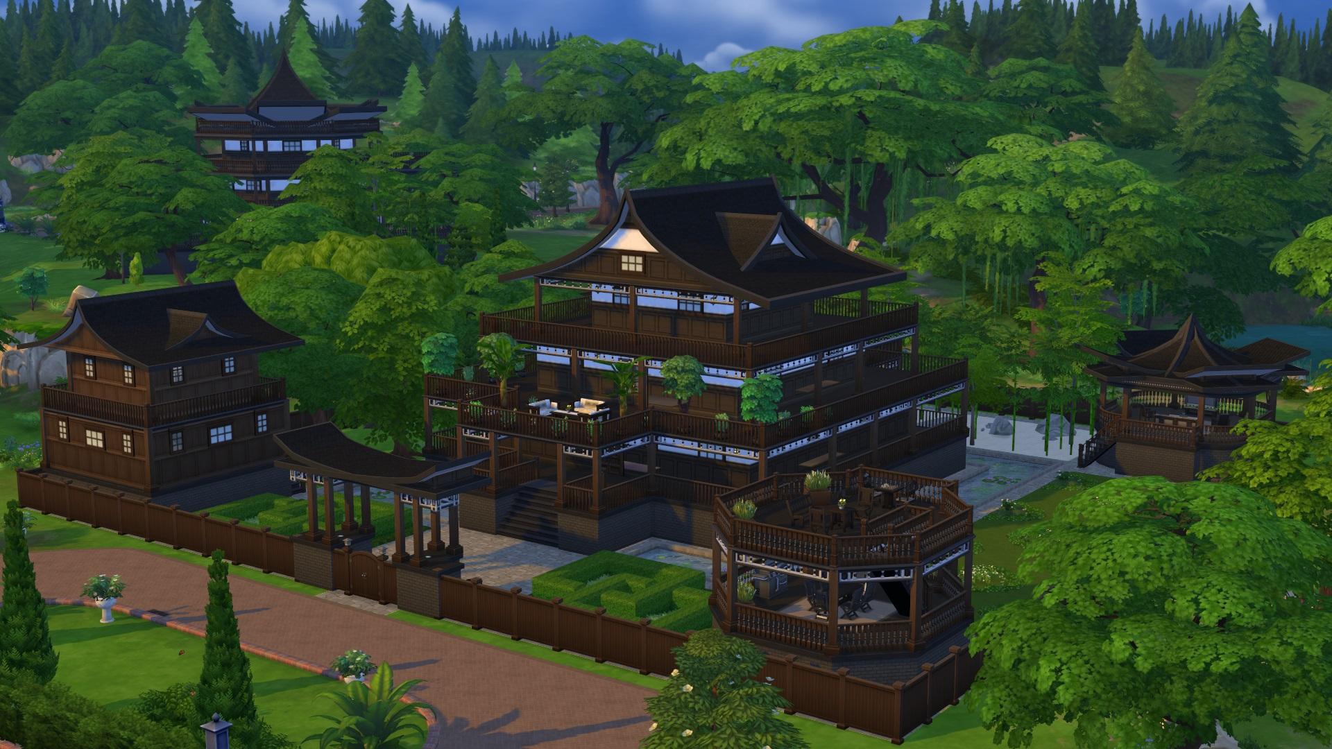 maison japonaise en france constructeur maison japonaise. Black Bedroom Furniture Sets. Home Design Ideas