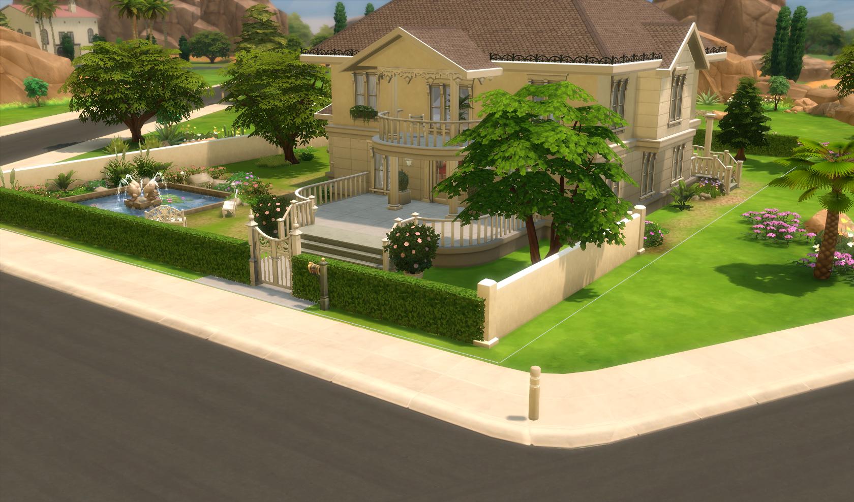Sims 2 sims 3 sims 4 les maisons de dom page 7 for Construire une maison sims 3 xbox 360