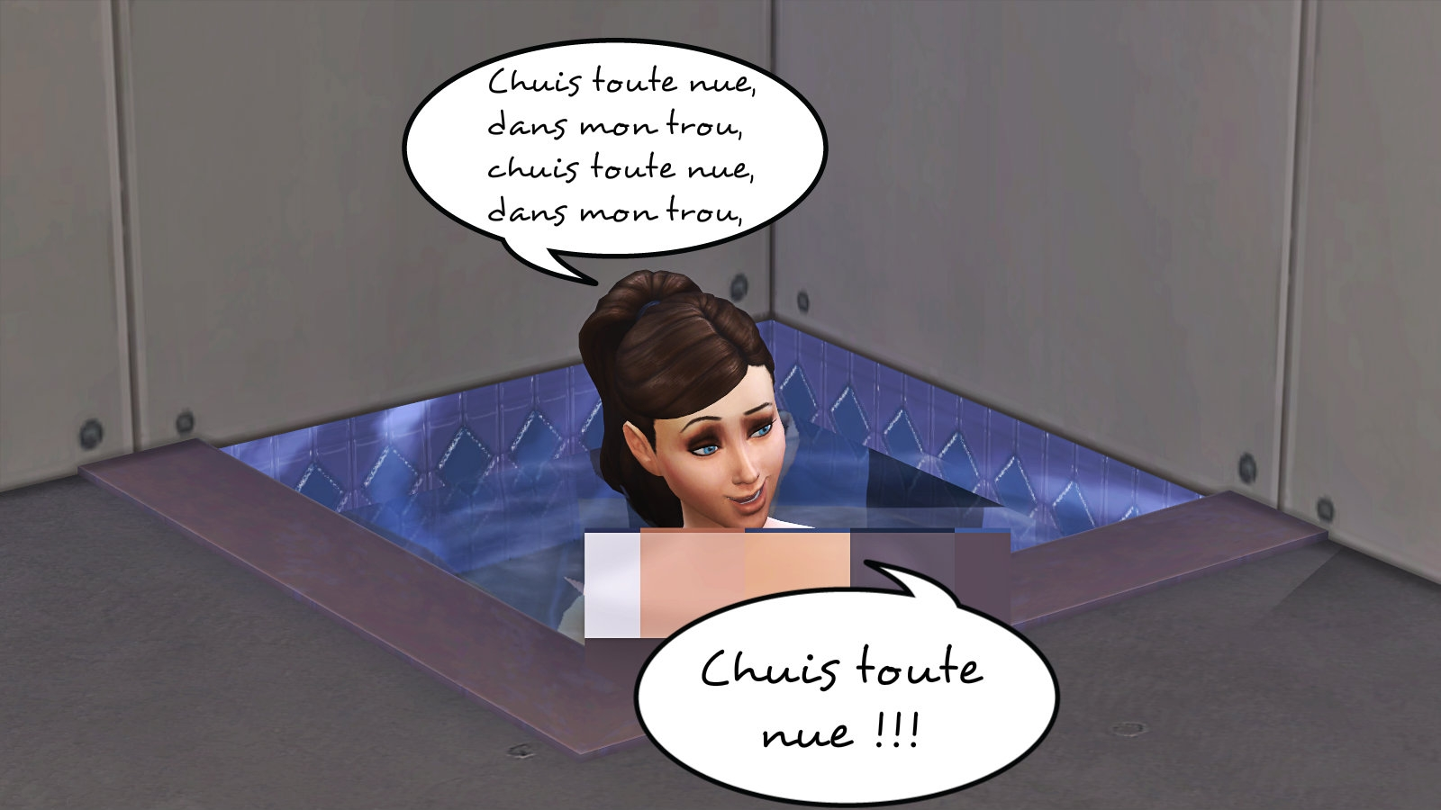 L 39 apocanoog ii le retour 23 2 page 8 les sims for Accoucher dans une piscine