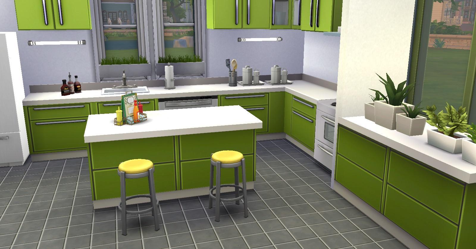Et Si On Mariait Les Couleurs Le Gris Fin 16 09 Page: meuble de cuisine sims 4 qui s imbrique