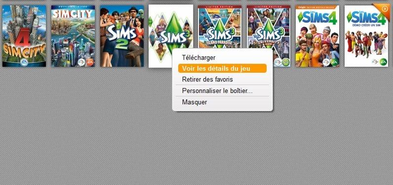 - Troisièmement, réinstaller Origin, puis tu relances la procédure de téléchargement pour installer les Sims 3, n'oublie pas tout d'abord il faut que tu notes les numéros de séries qui se trouvent ci-dessous dans la capture d'écran ( Si elle ne s'affiche pas, préviens moi ).