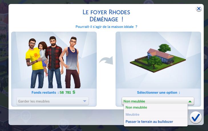 Je Ne Peux Plus Acheter Une Maison Meuble Les Sims